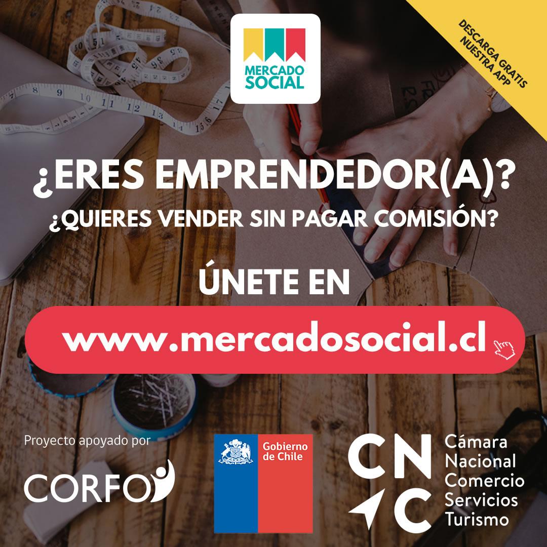 Mercado Social Vitrina de Emprendedores Online Chile