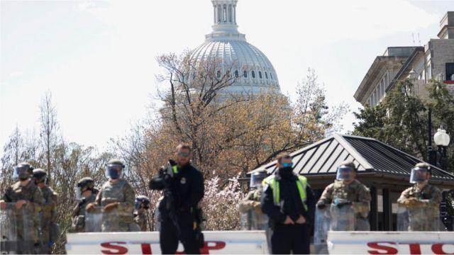 Acordonan alrededores del Capitolio de EEUU porque motociclista habría atropellado a oficiales
