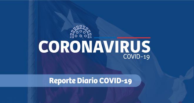 Reporte diario Covid-19: Casos y muertes