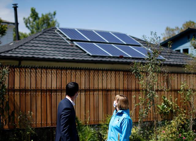 Casa solar, Panel solar
