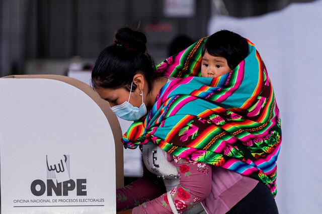 Elecciones Perú Fujimori Castillo