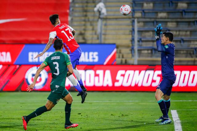 Selección chilena vs. Bolivia Copa América
