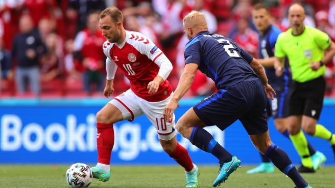 Dinamaca vs Finlandia Eurocopa