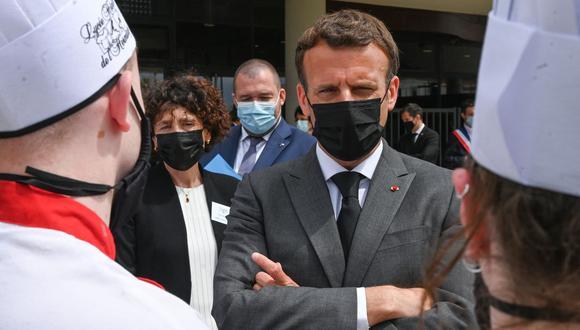 Presidente Macron, Francia