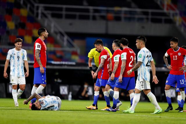Selección argentina lesión