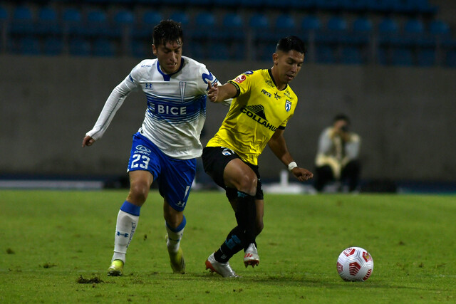 U. Católica vs Iquique vuelta Copa Chile