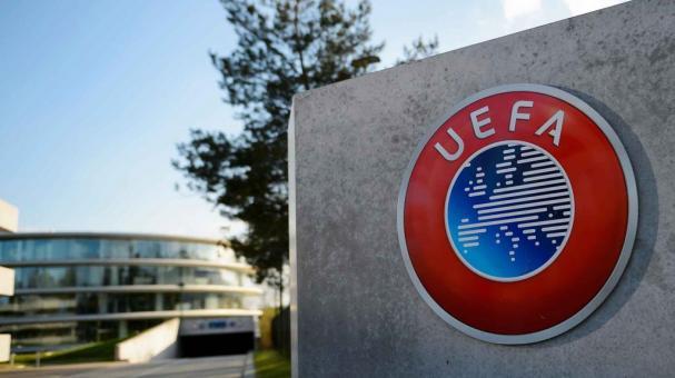 UEFA gol visita
