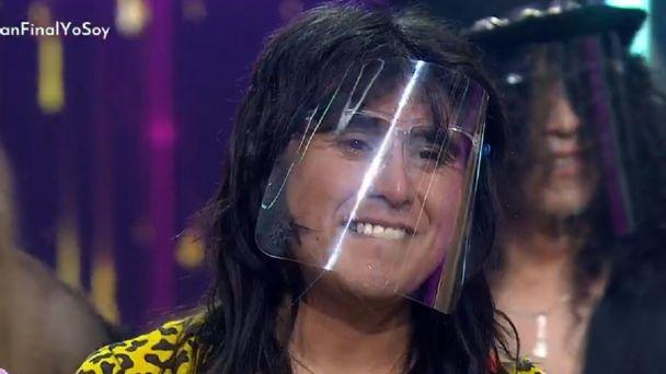 Nicolás Cid - imitador de Steve Perry: Ganador de Yo Soy temporada 3.