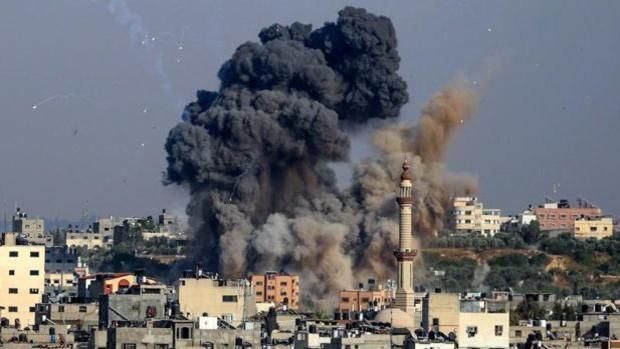 ataques aéreos Gaza