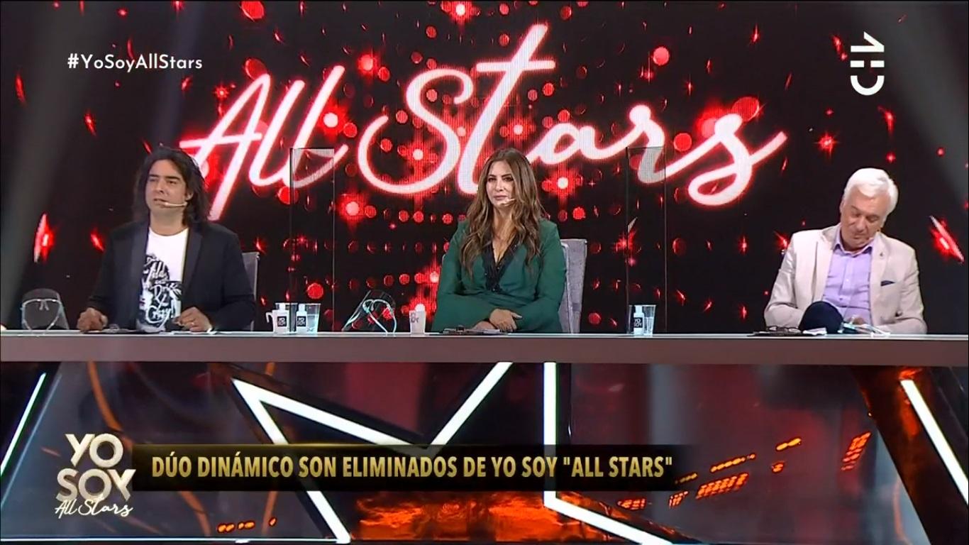 Dobles de Dúo Dinámico Yo Soy All Stars