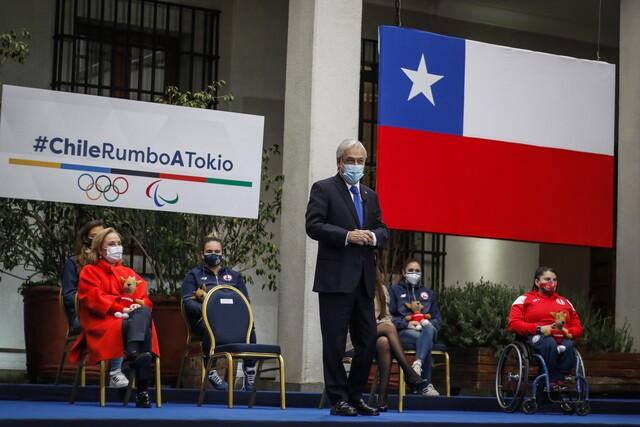 Piñera delegación JJOO