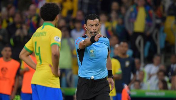 Roberto Tobar Brasil vs. Perú