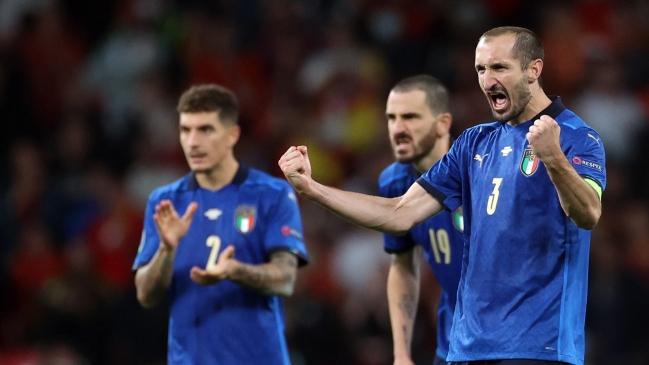 Italia venció a España y avanza a la final de la Eurocopa.