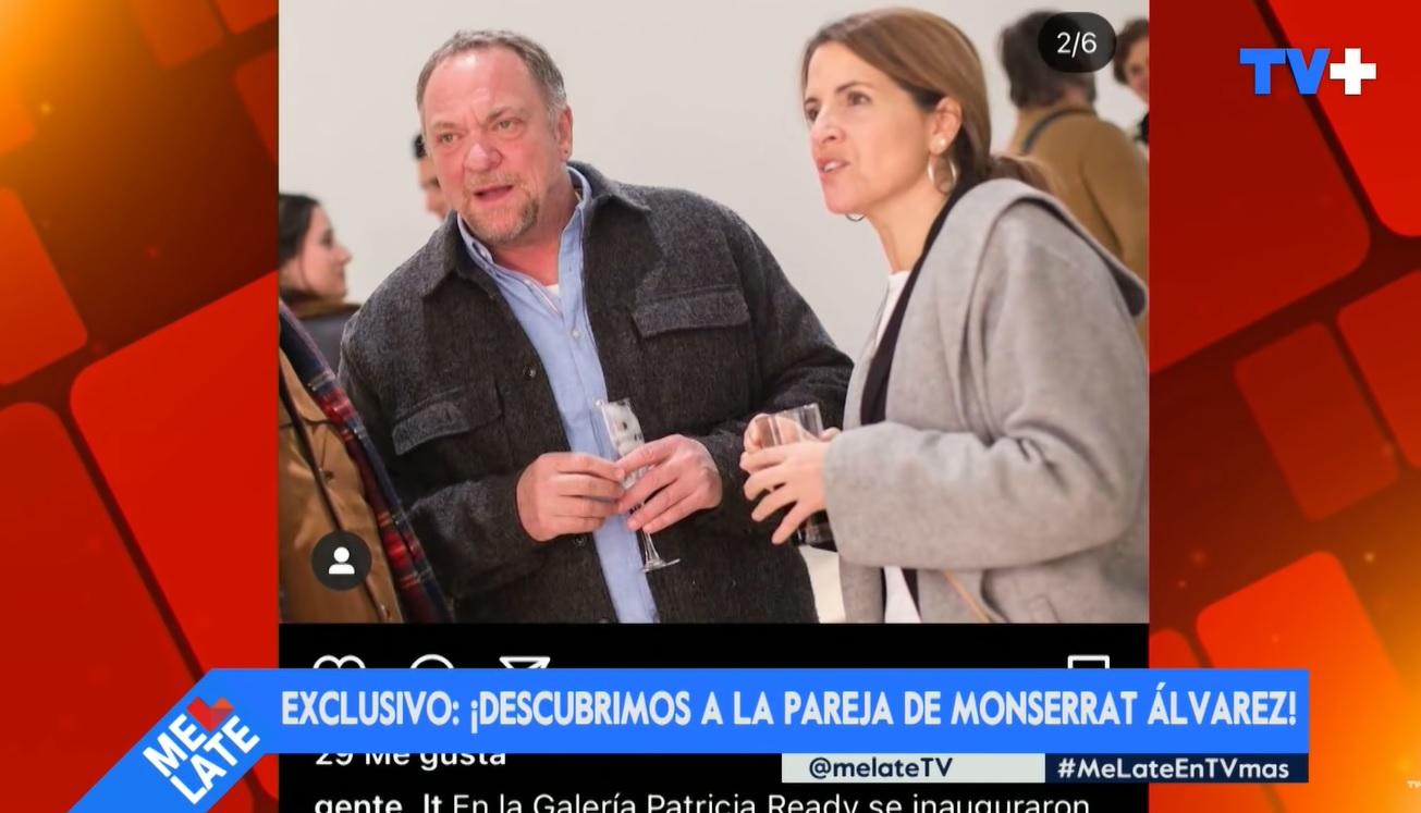 pareja de Monserrat Álvarez